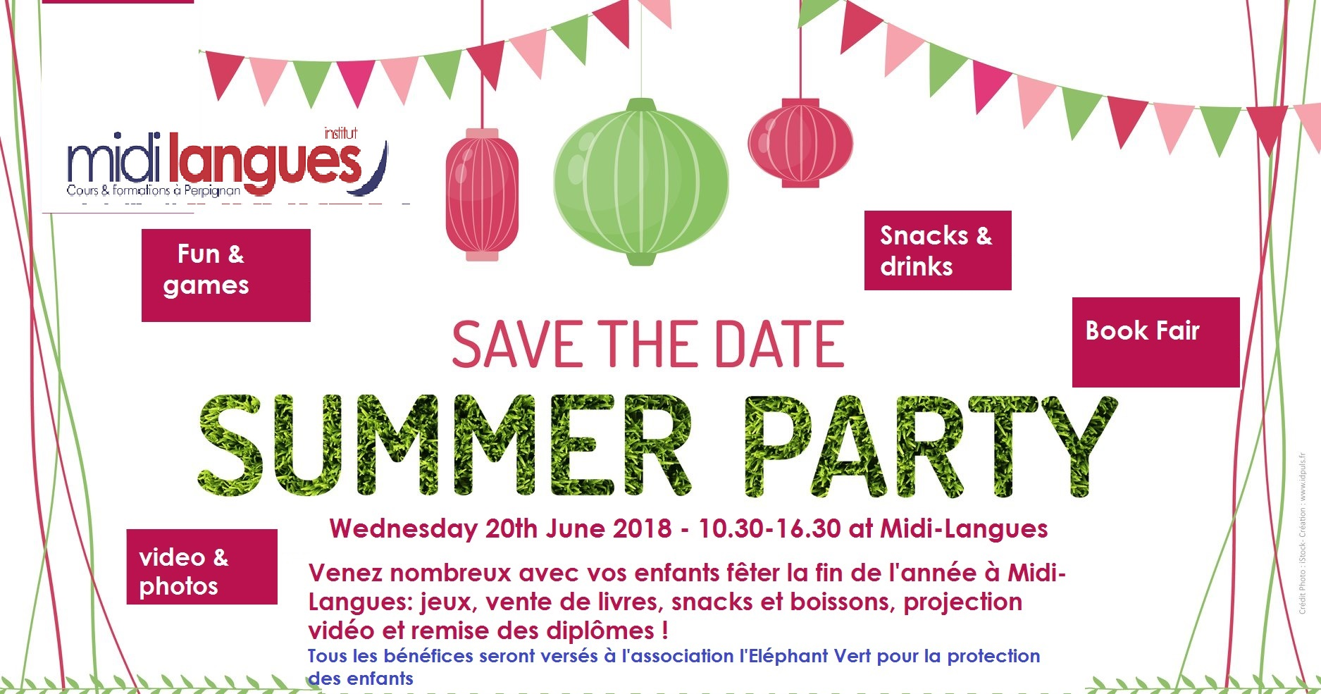 Summer Party mercredi 20 juin